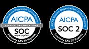 AICPA SOC logos